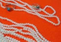 Perla Cultivada N°4 por 12 Tiras - Mercería - Perlas