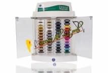 Pesponto Exhibidor 48 Colores (240 Hilos) - Mercería - Muebles de hilos