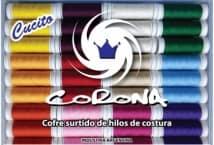 Cofre Hilo Corona Poliester x72 unidades - Mercería - Muebles de hilos