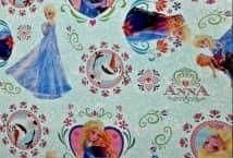 Friselina Disney Frozen x 1.40 ancho (5) - Mercería - Friselina-Tela Ecológica