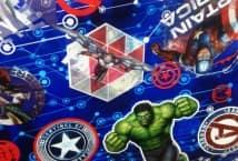 Friselina Marvel Avengers 1.40 de ancho (5) - Mercería - Friselina-Tela Ecológica