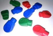 Tapa Puntas de Goma x12 Unidades - Mercería - Accesorios para el tejido