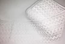 Puntilla Algodón Blanca 13,5 cm. ancho (12) - Puntillas y Broderie - Puntillas y Entredos de Algodón