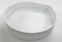 Vincha Plástica 25mm Blanca para Forrar por 10 Unidades - Accesorios para el Cabello - Accesorios para el Cabello