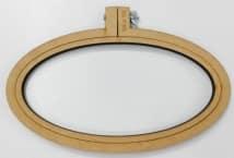 Bastidor Oval 24x12cm. Fibrofacil - Mercería - Bastidores