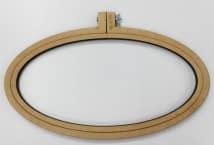 Bastidor Oval 32x16cm. Fibrofacil - Mercería - Bastidores