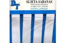 Sujeta sabanas por 4 unidades - Mercería - Mendafácil