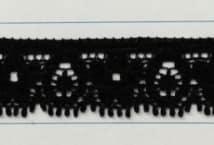 Puntilla Elastizada 15 mm Negra Precio x metro (Pieza 20 Mts) - Puntillas y Broderie - Puntillas Elastizadas (Lycra)