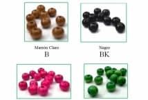 Cuentas de Madera Color 7x8 por 200 Unidades - Mercería - Cuentas y Dijes