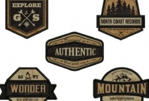 Aplicación Bordada Escudo Montaña (6) - Aplicaciones - Aplicaciones
