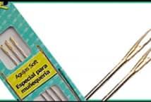 Aguja para Soft 3,5x90mm (3) - Mercería - Muñeco Soft
