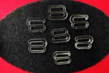 Broche Corpiño Transparente 18mm por 50 Unidades - Mercería - Accesorios para corsetería