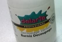 Barniz Delarte DECOUPAGE x125 Cc.                         - Mercería - Decoupage