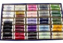 Cadena cofre plástico por 100 hilos - Mercería - Muebles de hilos
