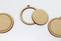Mini Bastidor Circular 3mm espesor x3 unidades - Mercería - Bastidores