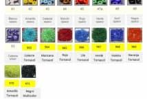Canutillo Partido Por 250 Gramos  - Mercería - Mostacillas y canutillos