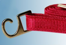 Bretel Rasado 6 Mm. Gancho Metal por Par (6) - Mercería - Breteles para corpiños