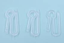 Gancho Alfiler Plástico por 100 Unidades - Mercería - Accesorios para cortinas
