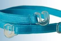Bretel Rasado 6mm. Gancho Plástico por Par (6) - Mercería - Breteles para corpiños