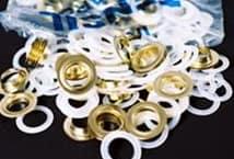 Ojal bronceado c/arandela nº32 por 144 unidades - Mercería - Accesorios para cortinas