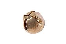 Cascabel nº10 dorado-plateado por 50 unidades - Mercería - Cascabeles y Campanitas