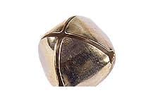 Cascabel nº15 dorado-plateado por 50 unidades - Mercería - Cascabeles y Campanitas
