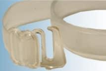 Bretel Silicona 10 Mm. Gancho Plástico por Par (6) - Mercería - Breteles para corpiños