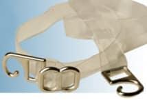 Bretel Silicona 6 Mm. Gancho Metal por Par (6) - Mercería - Breteles para corpiños