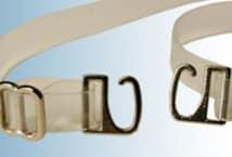Bretel Silicona 10 Mm Gancho Metal por Par (6) - Mercería - Breteles para corpiños