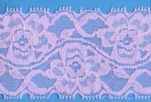 Puntilla Lycra 55 MM Color (x18.29 Mts). Precio por Metro - Puntillas y Broderie - Puntillas Elastizadas (Lycra)