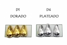 Perla Lágrima 10 mm por 10 Gramos - Mercería - Perlas