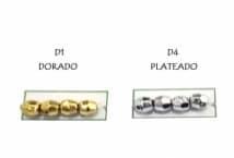 Perla N°6 Metalizada Facetada por 25 Gramos - Mercería - Perlas