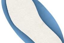 Plantilla sin arco talles 34 al 45 Blancas - Mercería - Plantillas para calzado