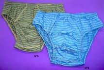 Slip Bradbury Rayado Talles 5-6 - Bonetería - Slips