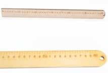 Regla 60 cm fibrofacil corte laser 9 mm de espesor - Mercería - Reglas y escuadras