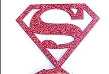 Aplicación Autoadhesiva Superman x3 unidades - Aplicaciones - Apliques Goma Eva