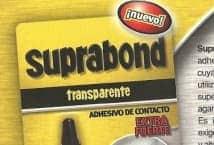 Suprebond Adhesivo de contacto transparente - Mercería - Pegamentos