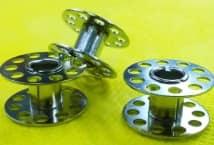 Carretel Metálico (10) - Mercería - Accesorios para máquina coser